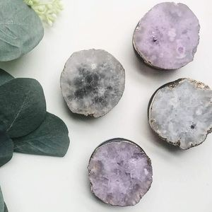 Ten79LA Purple Agate Phone Grip/Pop Socket